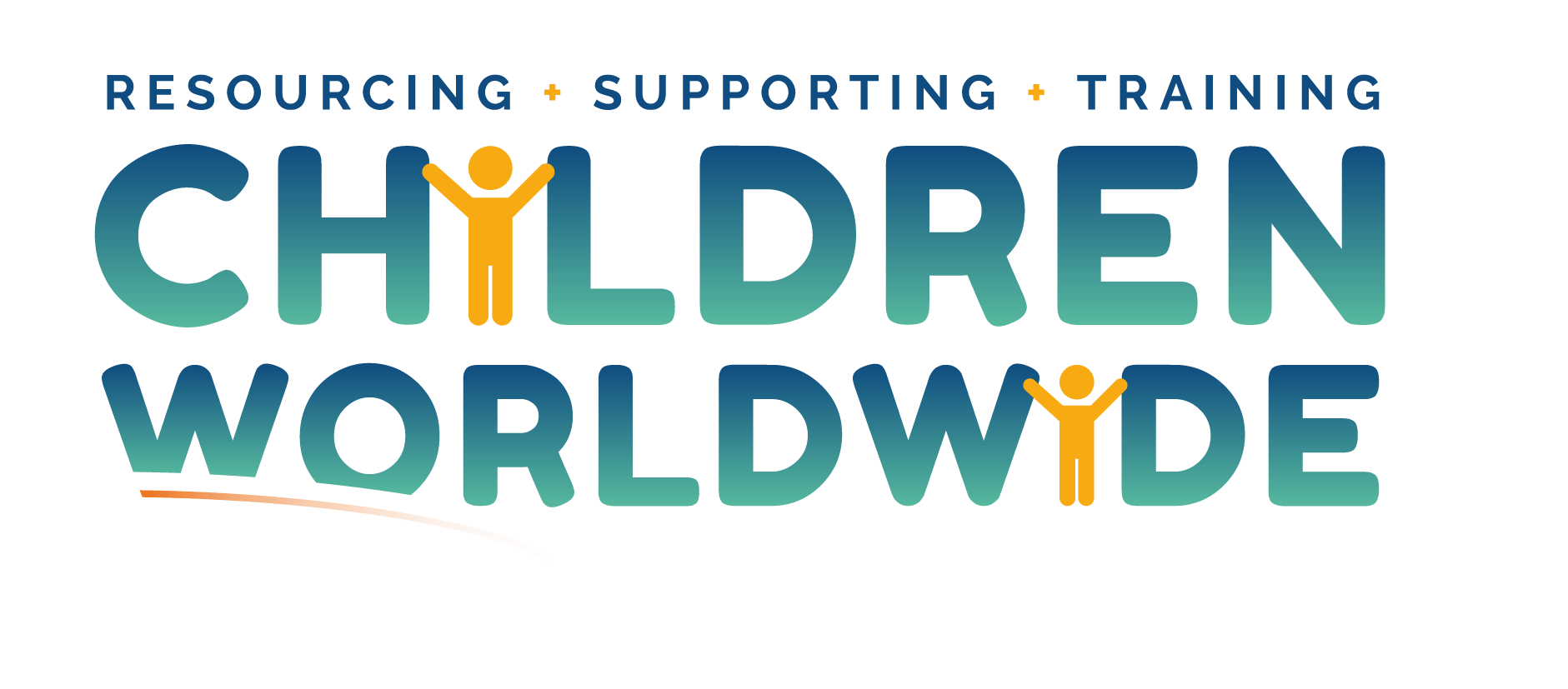 The logo for Children Worldwide. The strap line reads: Resourcing, Supporting, Training