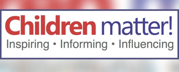 Children Matter Logo, with the strap line: Inspiring, Informing, Influencing